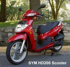 SYM HD-200 Scooter