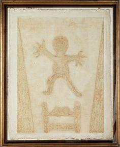 RUFINO TAMAYO NIÑO SALTANDO 1982 GRABADO 78 X 59 CM. MÉXICO