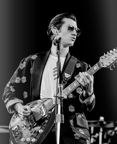 Alex Turner extremly cool