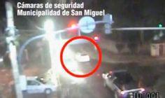 Persecución y captura tras robo de auto en San Miguel