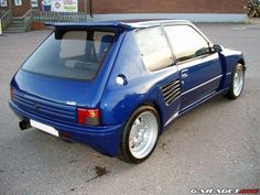 Peugeot 205 gti dimma , they don't make hot hatches like this anymore! Tuner Cars, Small Cars, Modified Cars, Rally Car, Gto, Car Show, Fast Cars, Cars And Motorcycles, Luxury Cars