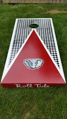 University of Alabama Roll Tide corn hole boards