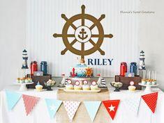 nautical boy birthday