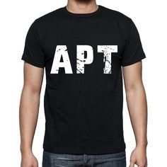 #tshirt #word #apt #men #black This weekend you will need a quality t-shirt. Let's shop! --> https://www.teeshirtee.com/collections/collection-3-letters-black-1/products/apt-men-t-shirts-short-sleeve-t-shirts-men-tee-shirts-for-men-cotton-black