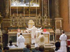 Solemn Mass in the Dominican Rite at Santissima Trinita in Rome