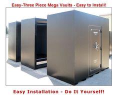 THREE PIECE MEGA VAULT- easy to install!