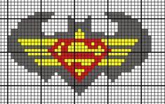 Not your grandmother& crafts. Batman Wonder Woman, Wonder Women, Graph Crochet, Love Crochet, Crochet Afghans, Cross Stitch Baby, Cross Stitch Patterns, Bead Patterns, Crochet Patterns