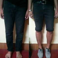 This us what i do with my old jeans..   #fashion #mensfashion #transformation #diy #jeans #men #shorts #nepal #nepali #faahionformen