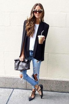 Outfit with jeans