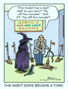 Pagan Humor Because We Get It. likes. Welcome to Pagan Humor! A place to get laughs, the kind that only we as a community would get (or at least make. Halloween Meme, Halloween Cartoons, Happy Halloween, Halloween Ideas, Halloween Stuff, Halloween Witches, Halloween Images, Halloween Halloween, Holidays Halloween