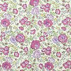 By The Yard 100% Cotton Fabric Floral Pattern 44 x 36 Bedding Craft f-138 - #bedding, #cotton, #craft, #floral, #pattern, 100%, 36quot, 44quot, f138, fabric, yard