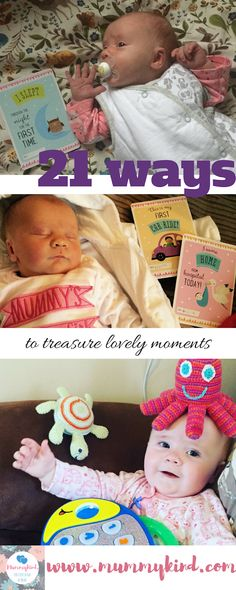 Babies grow up so quickly! So here are 21 ways that you can make the most of it and treasure all of those precious moments! Parenting Advice, Kids And Parenting, Small Baby, Baby Sister, Nicu, Baby Grows, New Parents, Precious Moments, Our Baby