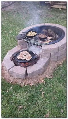 35 backyard landscaping ideas on a budget 21 - Diy garden decor, Backyard fire, Backyard . Cheap Fire Pit, Diy Fire Pit, Fire Pit Backyard, Backyard Fireplace, Outdoor Fireplaces, Fire Pit Grill, Small Garden Fire Pit, Cheap Outdoor Fire Pit, Propane Fireplace