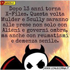 #Frasi #Umorismo #XFiles