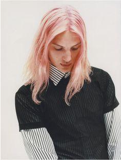 long #pink #men'shaircolor