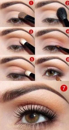 step by step makeup, beauty, eyes, natural