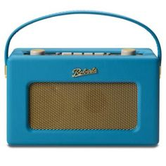 Marine Teal, Tropical revival, Roberts Radio perfect for summer