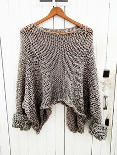 Sweater  Oversize/Womens Clothing Women Shirt Women Blouse  Only today promotion for 3 hours on selected items by armarioenruinas on Etsy https://www.etsy.com/listing/223880617/sweater-oversizewomens-clothing-women