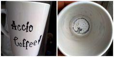 Accio Coffee! #Harry #Potter #diy