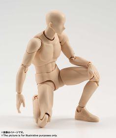 BANDAI S.H.Figuarts Body-kun (Pale Orange Color Ver.) Action Figure