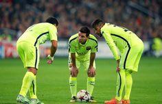 Neymar, Suarez, Messi