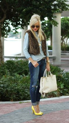 A Spoonful of Style: Faux fur and neon...