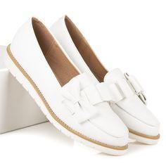 431f5f413 Štýlové dámske topánky na jar 7211-41W Slávnostné Topánky, Oxford Topánky,  Šaty,