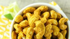 The turmeric in these cashews is an anti-inflammatory superstar!