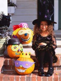 Calabazas creativas y divertidas para Halloween | Fiestas y Cumples