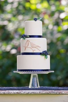 Eye-Catching Unique Wedding Cakes ❤ See more: http://www.weddingforward.com/unique-wedding-cakes/ #weddingforward #bride #bridal #wedding