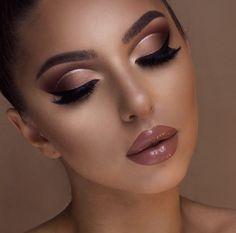 Makeup Trends, Makeup Inspo, Makeup Inspiration, Beauty Makeup, Makeup Ideas, Beauty Tips, Huda Beauty, Diy Beauty, Glam Makeup Look