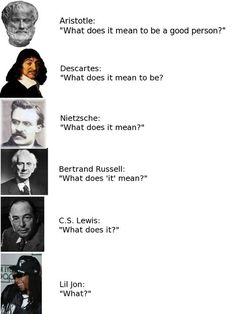 Philosophy through the ages