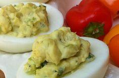 Jalepeno deviled eggs