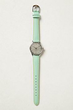 Leather Pop Watch #anthropologie #anthrofave