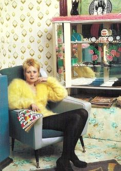 "Vivienne Westwood at her ""Let it Rock"" boutique, 1971"