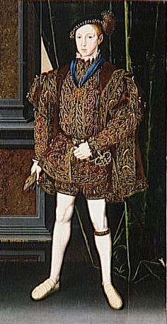 Edward VI, King of England, son of Henry VIII and Jane Seymour | Flickr - Photo Sharing!