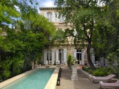 L'Hotel  in Arles is an awesome hotel in an 18th century townhouse. Great mix of modern and antiques.