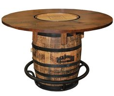 Look At High Quality Awesome Barrel Bar Table Jack Daniels Barrel Pub Table  Design Ideas In Numerous Graphics From Jean Green, Home Remodeling Specia.