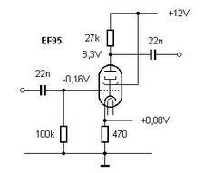 Bildresultat för 12volt ecc83 preamp schematic