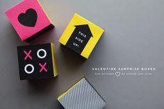Printable Valentine Box by Amanda Jane Jones