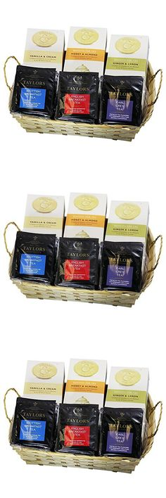 English Tea and Cookies Gift Basket