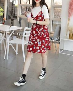 37 trendy street style spring outfits for 2019 00118 ~ Litledress 37 trendy street style spring outfits for 2019 00118 ~ Litledress Korean Fashion Trends, Korean Street Fashion, Asian Fashion, Korean Fashion Summer, Korea Fashion, Hipster Fashion Summer, 90s Fashion Grunge, 80s Fashion, Winter Fashion