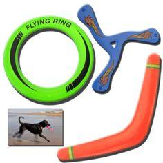 3-X-Anillos-Volador-Frisbee-Boomerang-Perro-Cachorro-Mascota-Jugar-nuevo-disco-al-Aire-Libre