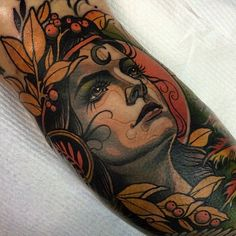 tattoo by Sam Clark                                                                                                                                                      Mais