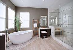 salle de bain zen bambou deco chambre zen bambou, parquet clair zen