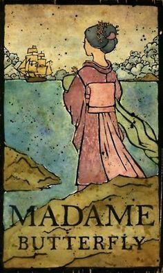 """Madame Butterfly è un'Opera in 3 atti di G.Puccini su libretto di G.Giacosa e L.Illica, definita nello spartito e nel libretto """"Tragedia Giapponese"""" è dedicata alla regina d'Italia Elena di Montenegro. La prima rappresentazione ebbe luogo al Teatro alla Scala di Milano, il 17 Febbraio 1904"""