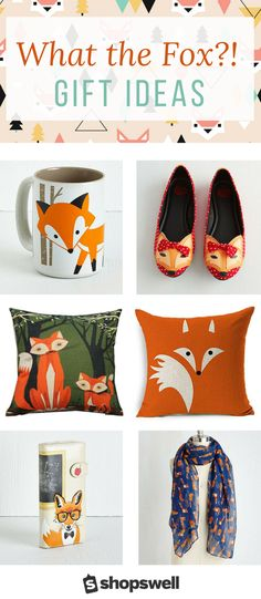 What does the fox say? For Fox sake, and whatever other pun you can think of related to this cute little forest creature.