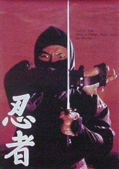 sho kosugi - ninja poster from the 1980s