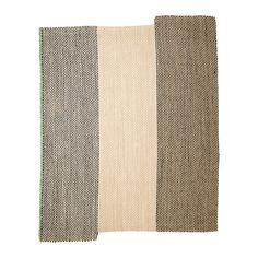 SATTRUP Tæppe, fladvævet IKEA Tæppet er slidstærkt og holdbart, fordi det er fremstillet af sisal, et naturfiber fra agaveplanten.