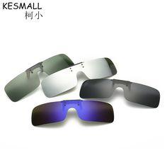 92872e38f9 2017 KESMALL Acetate Polarized Clip On Sunglasses Men Women UV400 Myopia  Driving Sun Glasses Coating Lens